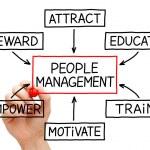 Management Flow Chart — Stock Photo #18865337