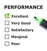 Performance Evaluation — Stock Photo