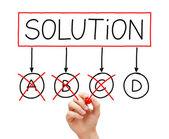 The Last Solution Option — Stock Photo