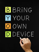 Bring Your Own Device — Stock Photo