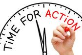 Time for Action — Foto de Stock