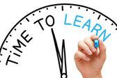 Tijd om te leren — Stockfoto