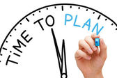 Time to Plan — Foto de Stock
