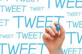Tweet kavramı — Stok fotoğraf