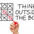 Royalty-Free Stock Photo: Think Outside The Box