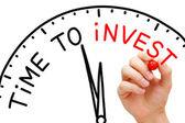 Hora de investir — Foto Stock