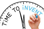 Time to Invent — Stock Photo