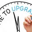 Time to Upgrade — Stock Photo