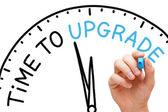 Zeit für ein upgrade — Stockfoto