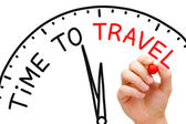Time to Travel — Stock Photo