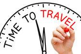 čas na cestování — Stock fotografie