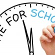 Stock Photo: Time for School