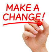 Make a Change — Foto Stock