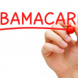 ObamaCare Red Marker — Stock Photo