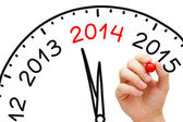 New Year 2014 Concept — Stockfoto