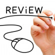 Stock Photo: Online Review Concept
