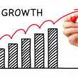 Stock Photo: Growth Graph