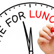 Stock Photo: Time for Lunch