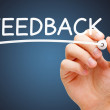 Feedback White Marker — Stock Photo #40102435