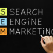 Search Engine Marketing Acronym — Stock Photo #42411649