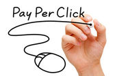Pay Per Click Mouse Concept — Stock Photo