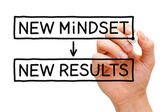 New Mindset New Results — Stock Photo