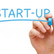 Start-up Blue Marker — Stock Photo #48579559