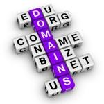 Domain names — Stock Photo #11059124