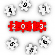 Happy New Year 2013 — Stock Photo #14920425