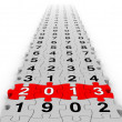 Happy New Year 2013 — Stock Photo #14920429
