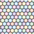 Hexagonal seamless pattern — Stock Vector