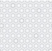 Hexagonal seamless pattern — Stock Vector