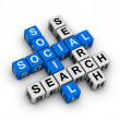 Social search — Stock Photo
