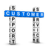Customer service and support — Stock Photo