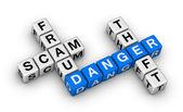 Fraud, scam, theft — Stock Photo