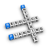 Enterprise Resource Planning (ERP) — Stock Photo