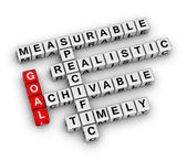 Goal setting — Stock Photo