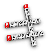 Enterprise resourceplanning — Stockfoto