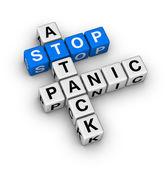 Stop panic attack — Stock Photo