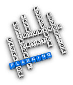 Personal financial planning — Stock Photo
