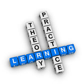 Learning - theory and practice — Stock Photo
