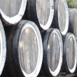 Oak wine barrels — Stock Photo #13366110