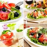 Greek salad set — Stock Photo #20717611