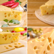 Cheese and vegetables — Stock Photo #20717745