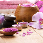 Conjunto de spa — Foto Stock