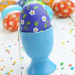 Painted easter eggs — Stock Photo #23140050