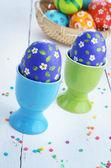 Boyalı paskalya yumurtaları — Stok fotoğraf