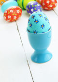 Huevos de pascua pintados — Foto de Stock