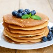 Ready to eat pancakes — Stock Photo
