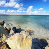 At the lake shore — Stock Photo